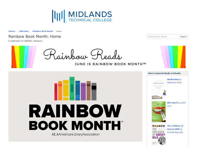 Rainbow Reads Screenshot